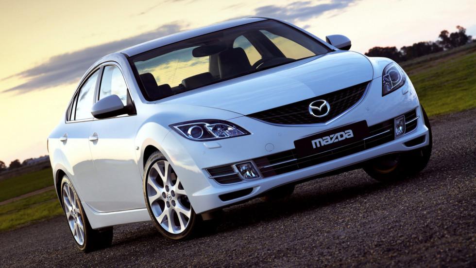 На фото: Mazda6 Sedan (GH) '2007–10 1
