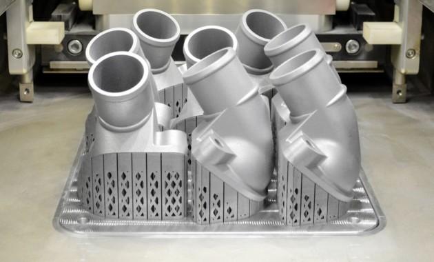 Benz начал изготовлять на3D-принтерах железные детали