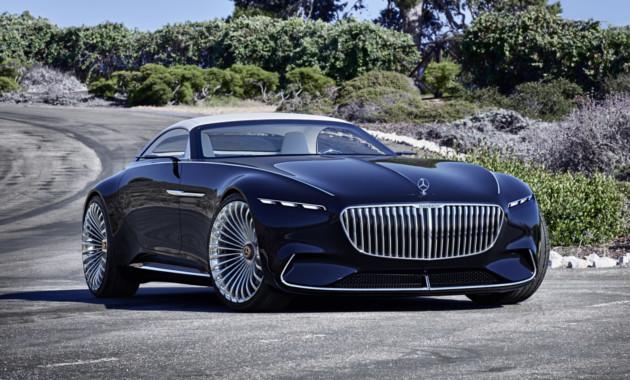 Mercedes продемонстрировал 6-метровый люксовый кабриолет
