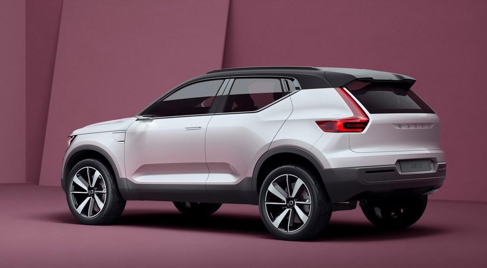 На фото: концепт Volvo Concept 40.1