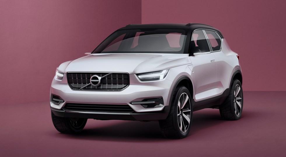На фото: концепт Volvo Concept 40.1. Дизайн XC40 выполнят по мотивам этого прототипа