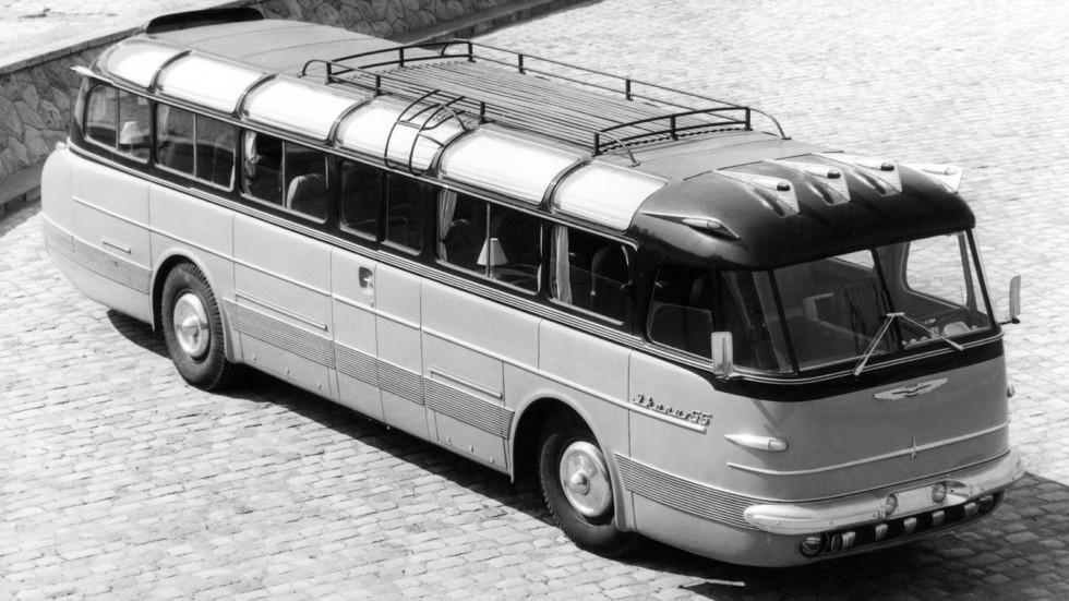На фото: Ikarus 55 '1953–59