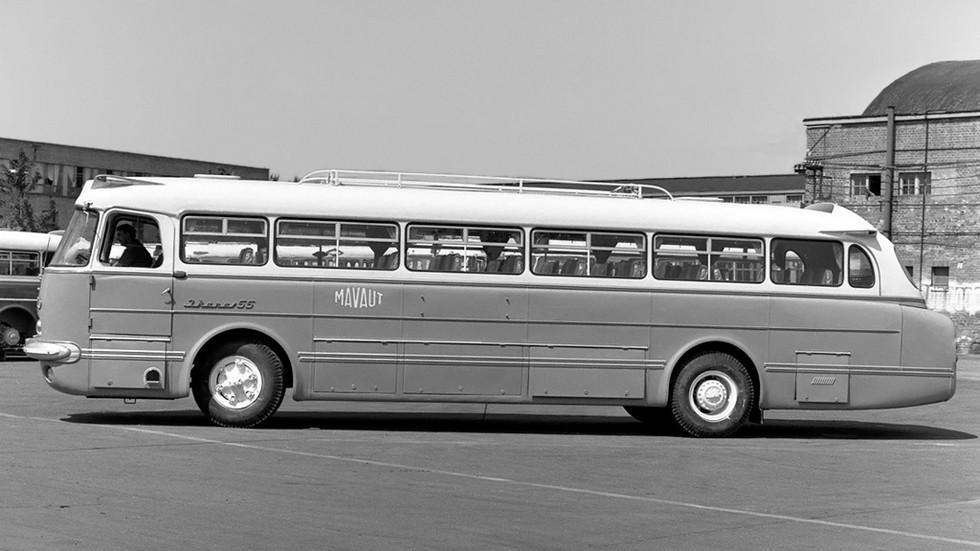 На фото: Ikarus 55 '1959–72