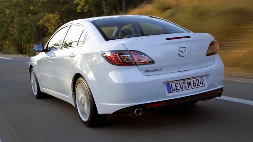 На фото: седан Mazda6 (GH) '2007–10