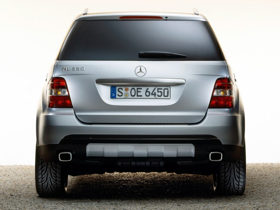 2Mercedes-Benz ML 350 (W164) '2005–08