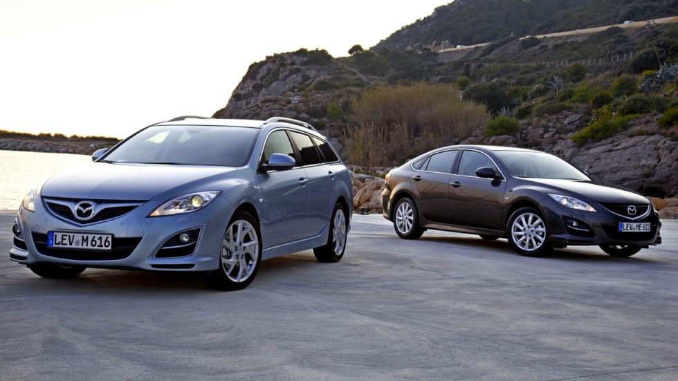 На фото: Mazda6 (GH) '2007–12