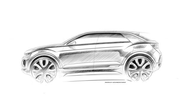 VW продемонстрировал навидео собственный самый небольшой кроссовер