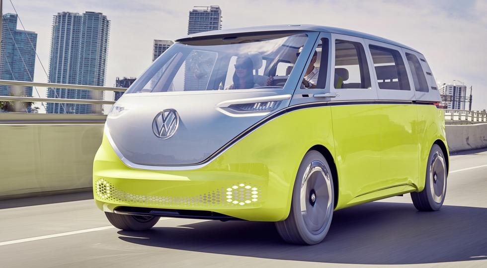 На фото: концепт Volkswagen I.D. Buzz