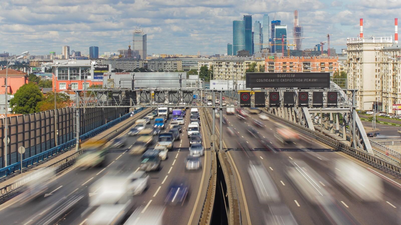 Дорожные камеры помогли собрать снарушителей 500 млн руб.