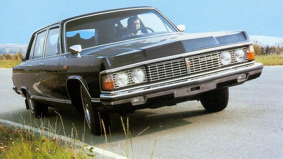 На фото: ГАЗ-14 Чайка '1976–89
