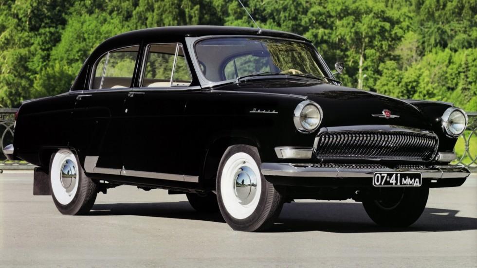 На фото: ГАЗ-23 Волга '1962–70