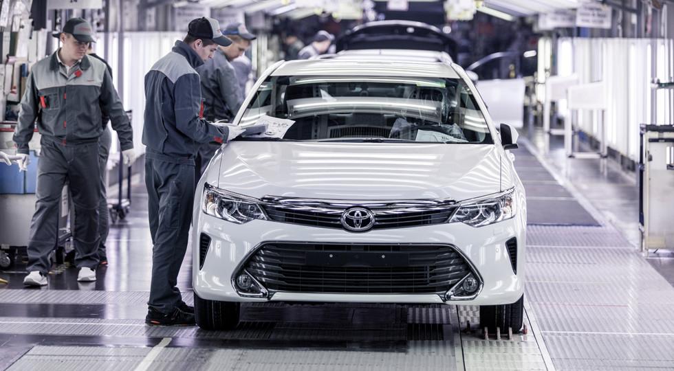 Производство легковых машин вПетербурге вянваре-июле выросло на31%