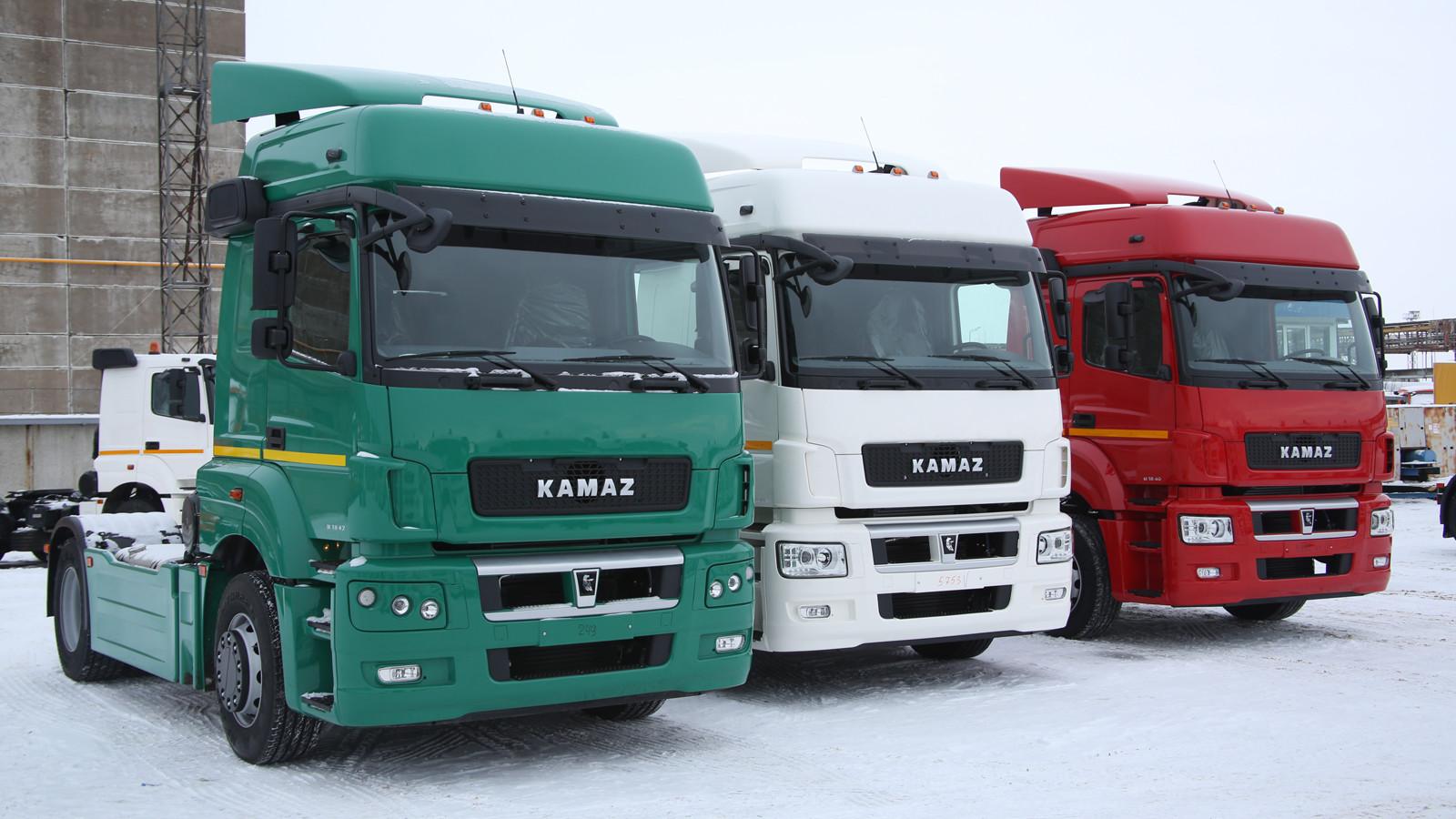 Чистая прибыль «КАМАЗа» составила 990 млн. руб.
