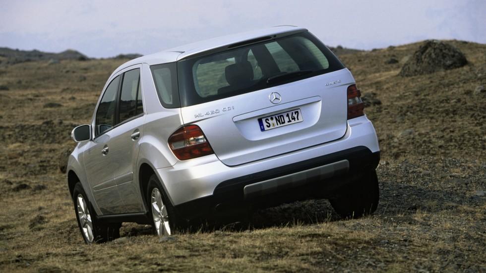 На фото: Mercedes-Benz ML 420 CDI (W164) '2005–08