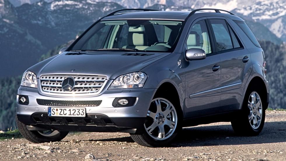На фото: Mercedes-Benz ML 500 (W164) '2005–08