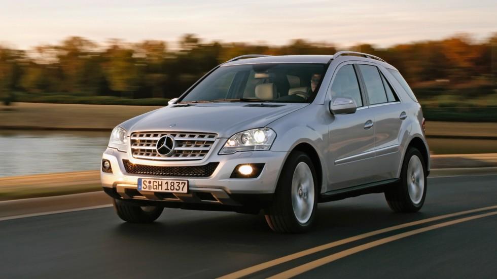На фото: Mercedes-Benz ML 500 (W164) '2008–11