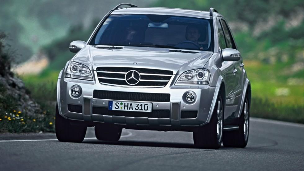 На фото: Mercedes-Benz ML 63 AMG (W164) '2006–08