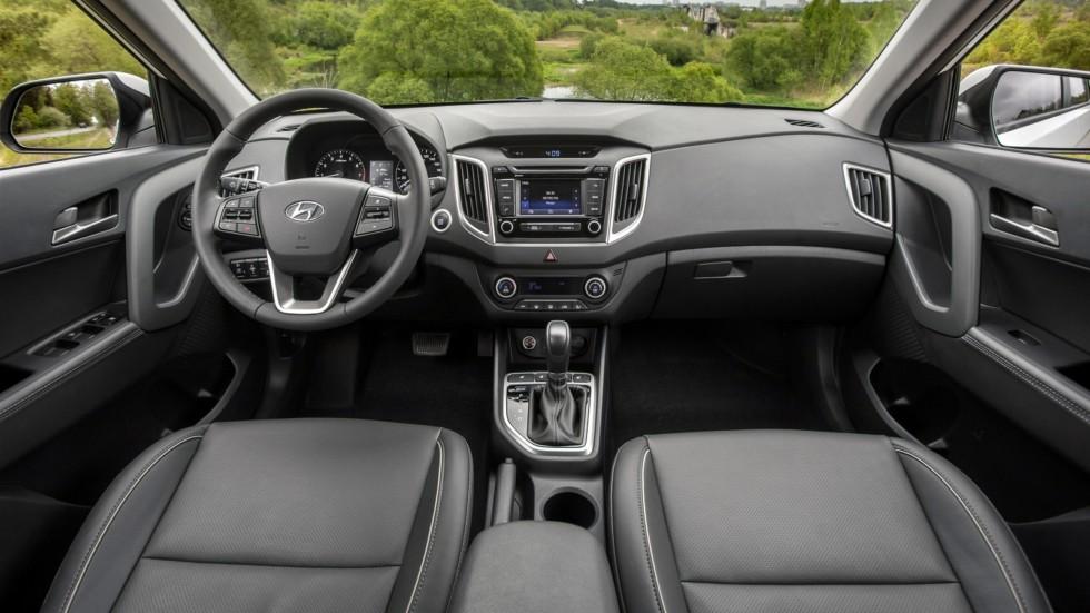 Торпедо Hyundai Creta CIS-spec '08.2016–н.в.