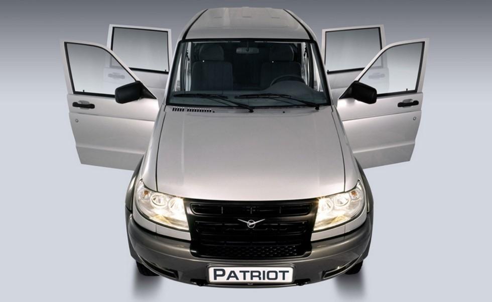 UAZ Patriot Classic (3163-010) '07.2005–09