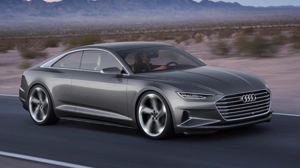 Audi prologue concept — прообраз нового A8