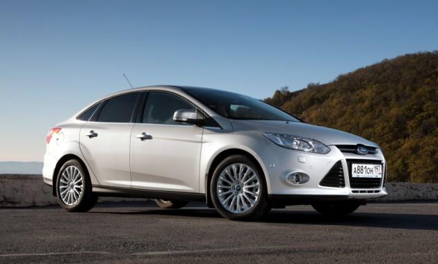 Это Форд Focus: неменее трети иномарок на трассах Российской Федерации