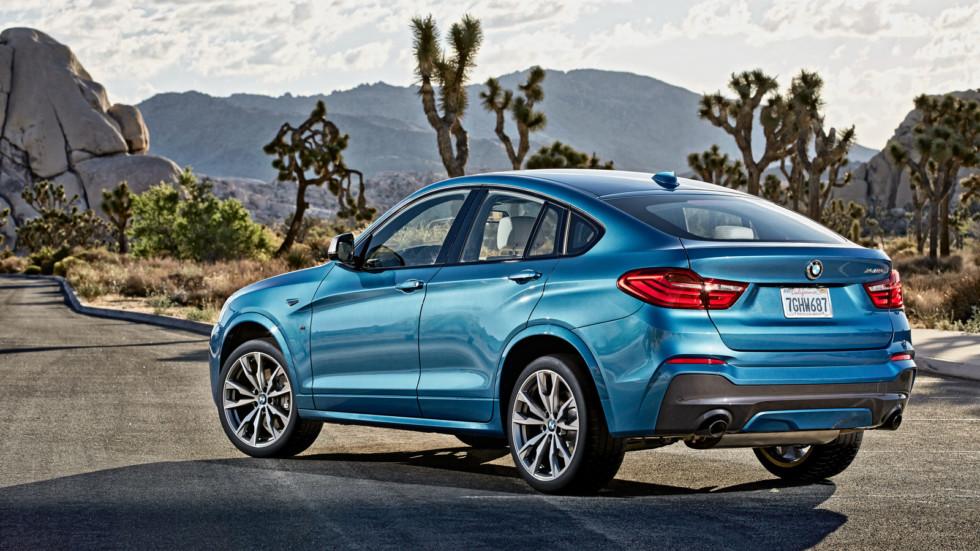 На фото: BMW X4 M40i (F26) '2015–н.в