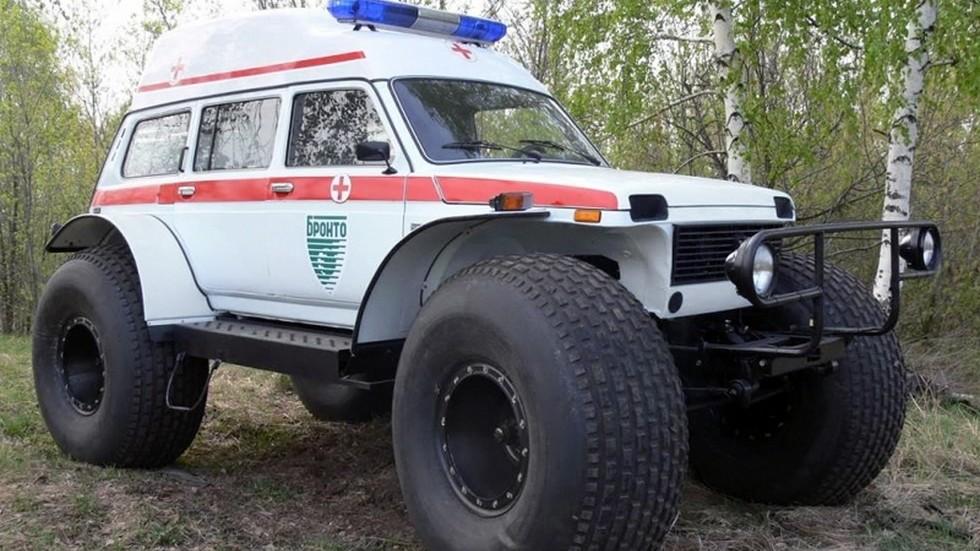 Экзотический вариант от Бронто – скорая помощь на очень больших колёсах