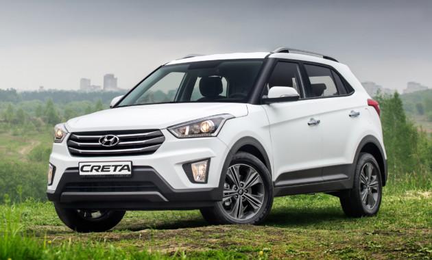 Hyundai Creta занимает треть от продаж марки в Санкт-Петербурге