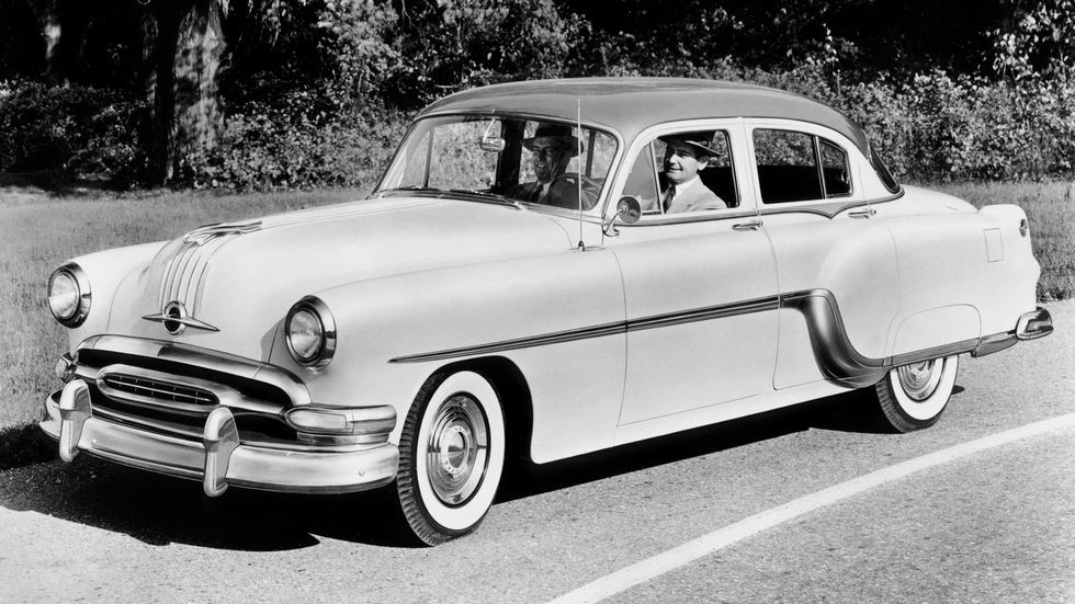 Pontiac Chieftain DeLuxe Eight '1954
