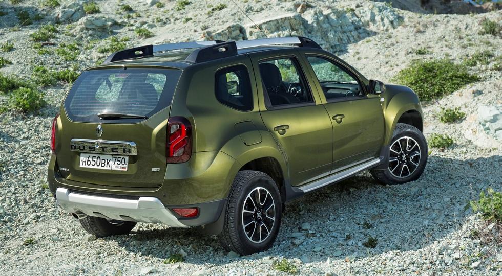 На фото: стандартный Renault Duster