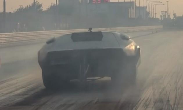 Быстрейший вмире электрокар TC-X установил новый рекорд скорости