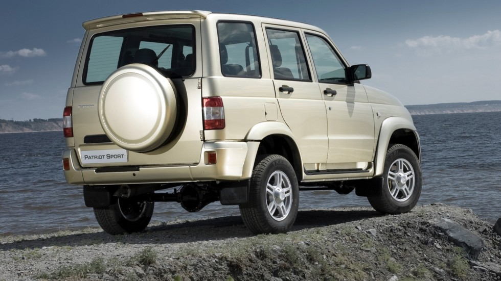 На фото: UAZ Patriot Sport Limited '2010