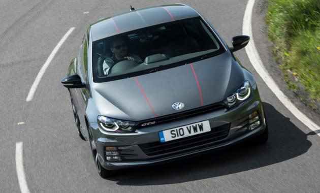 Хэтчбек VW Scirocco превратится в300-сильное электрическое купе