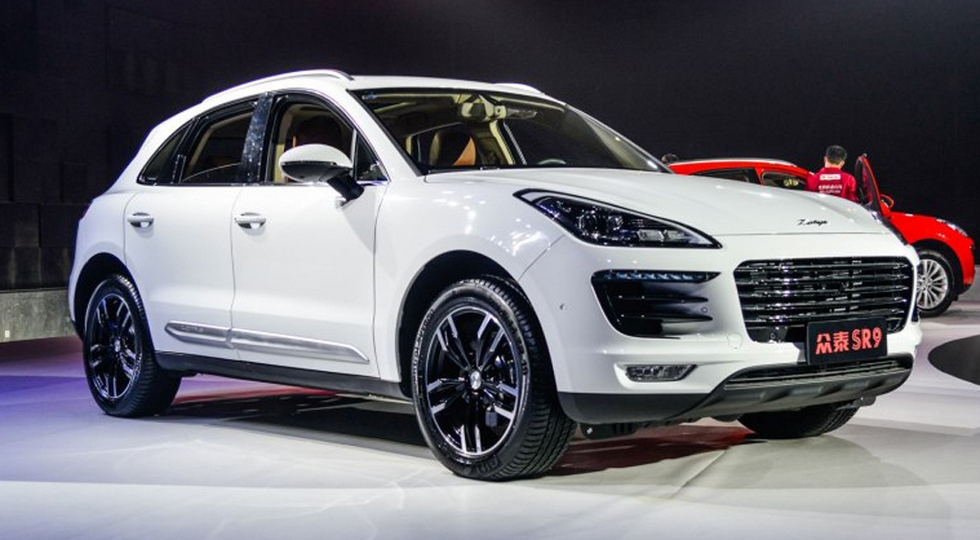 Zotye SR9 (клон Porsche Macan)