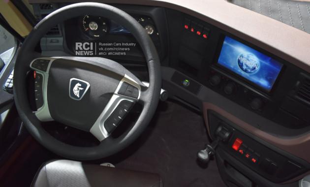 КАМАЗ навыставке «КОМТРАНС-2017» представил автомобиль спринципиально новейшей кабиной