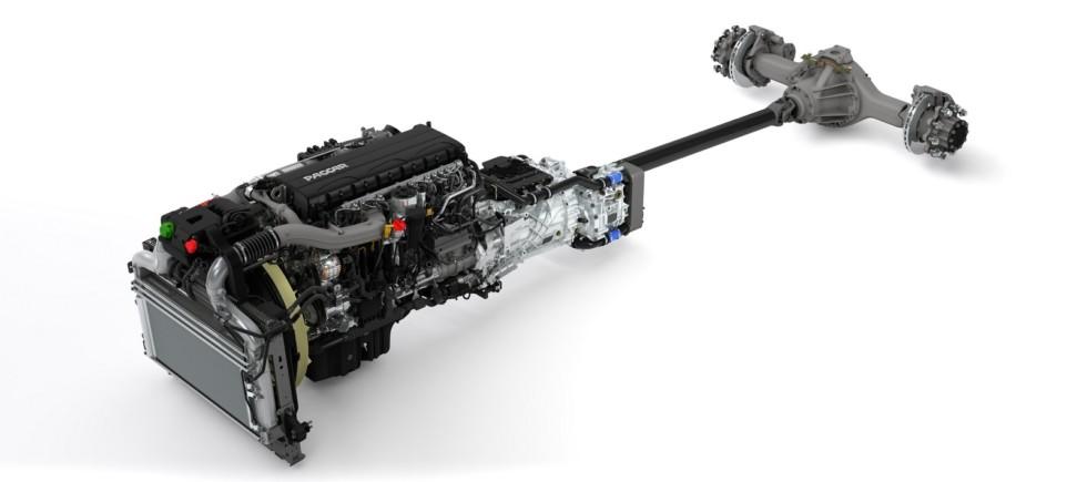 На фото: двигатель PACCAR MX-11