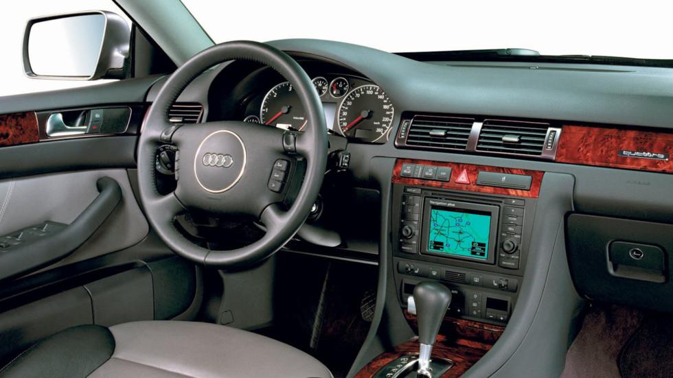 На фото: Audi Allroad quattro 4.2 (2002)