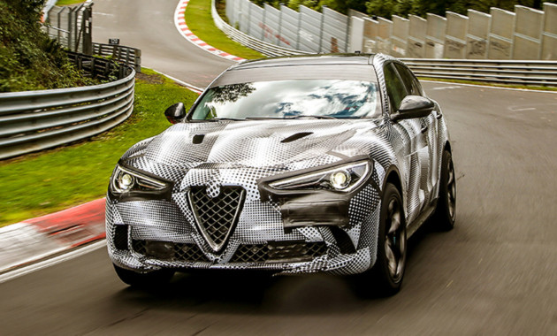 Альфа Ромео Stelvio стал быстрейшим SUV Нюрбургринга