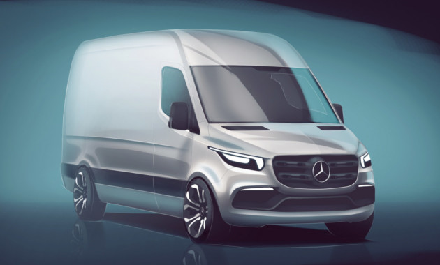 25Сен Новый Mercedes Benz Sprinter
