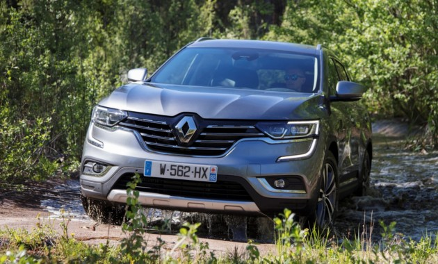 В Российской Федерации стартовали продажи дизельной версии нового Рено Koleos