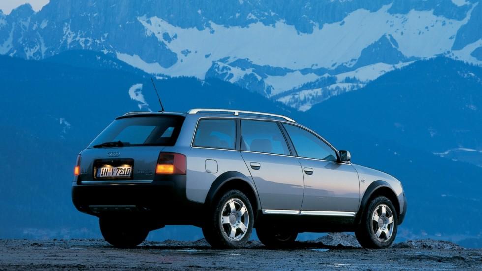 На фото: Audi Allroad 2.5 TDI quattro '2000–06