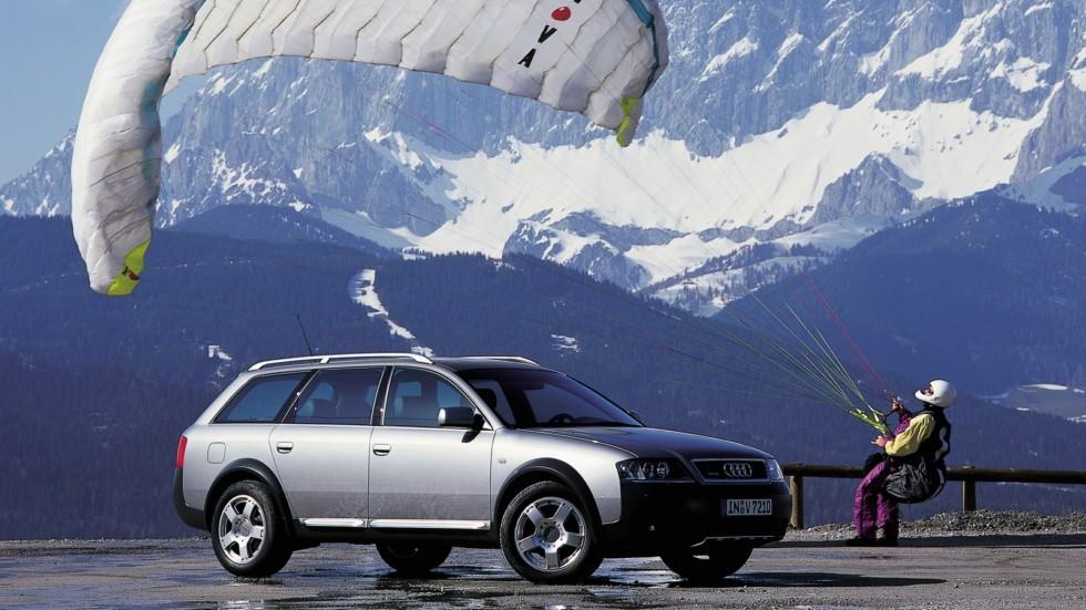 Audi Allroad 2.5 TDI quattro (4B,C5) '2000–06я