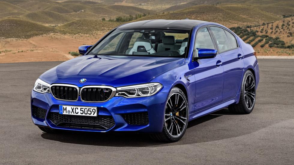 BMW M5front