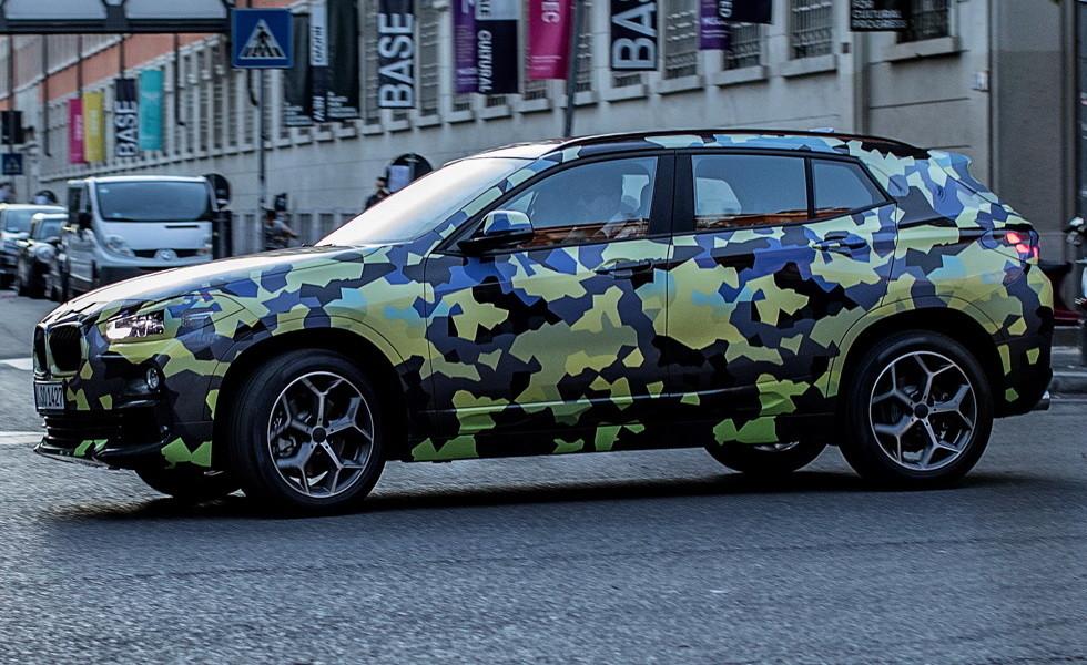 Новое кросс-купе БМВ X2 заметили на трассах Милана