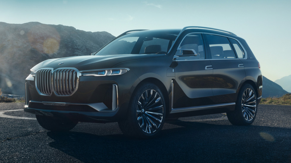 BMW X7front