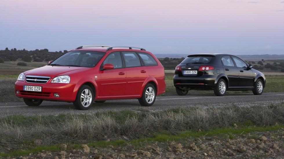На фото: Chevrolet Lacetti '2004–н.в.