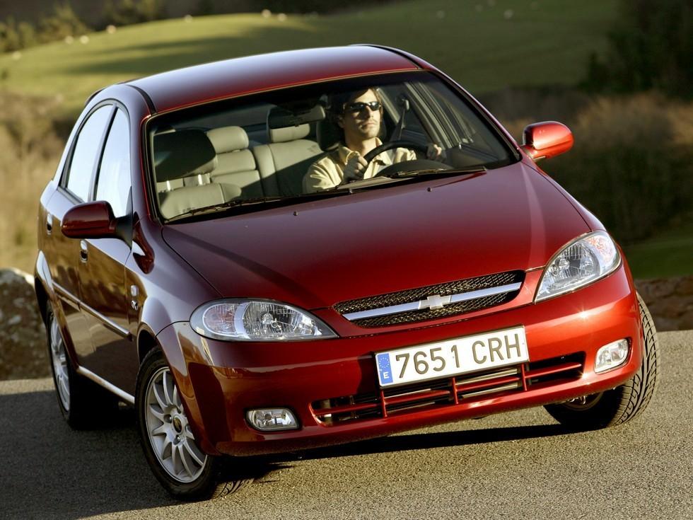 Chevrolet Lacetti Hatchback CDX EU-spec '2004–13