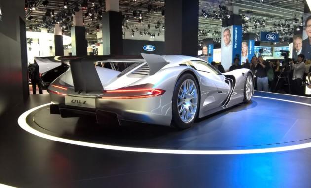Японцы показали воФранкфурте самый быстрый автомобиль вмире