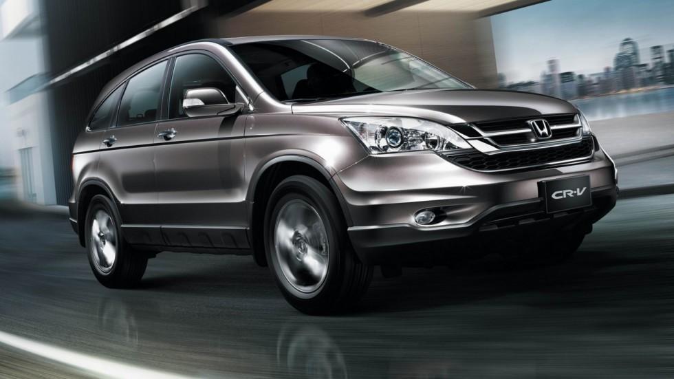 На фото: Honda CR-V '2009–12