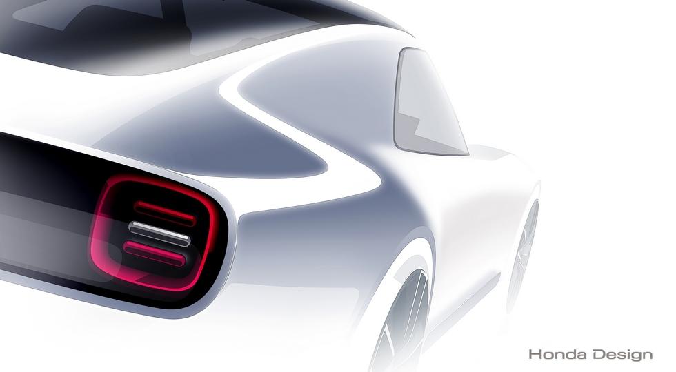 Первое изображение Honda Sports EV Concept
